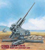 Modelcollect German 128mm Flak40 heavy Anti-Aircraft Gun makett