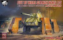 Modelcollect Fist of War German WWII E75 heavy panzer makett