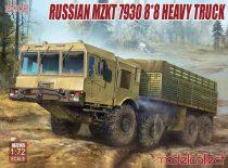Modelcollect Russian mzkt 7930 8*8 heavy truck makett
