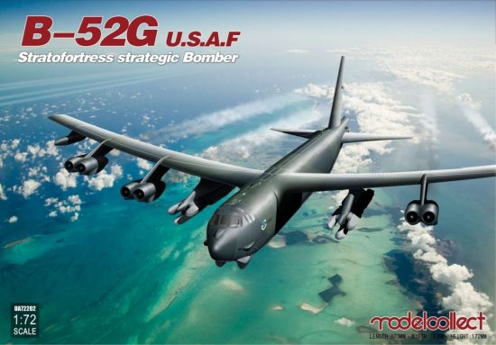 Modelcollect USAF B-52G Stratofortress strategic Bomber makett