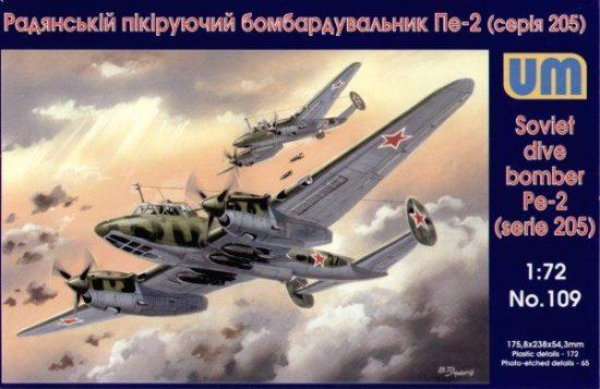 Unimodels Dive Bomber Pe-2 (205 series)