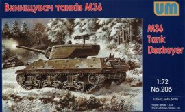 Unimodels M36 tank destroyer