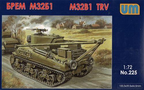 Unimodels M32B1 tank recovery vehicle makett