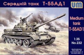 Unimodels Tank T-55AD1