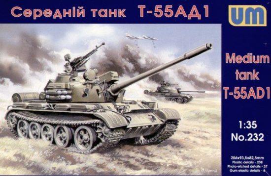 Unimodels Tank T-55AD1 makett