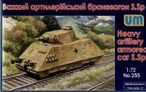 Unimodels Heavy artillery armored car S.Sp makett