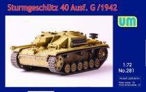 Unimodels Sturmgeschutz 40 Ausf.G early version makett