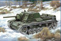 Unimodels SU-76i Self-propelled gun makett