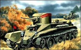 Unimodels Wheel-track Tank BT-2