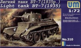 Unimodels Light Tank BT-7 (1935)