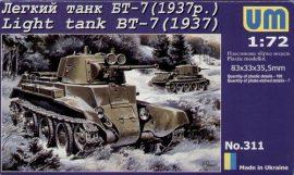 Unimodels Light Tank BT-7 (1937)