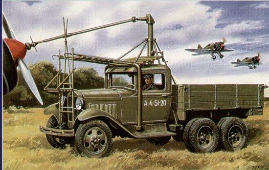 Unimodels Airfield starter AS-2 makett