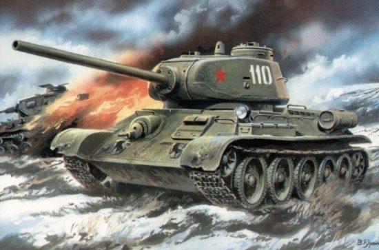 Unimodels T-34/85 with D5-T gun makett
