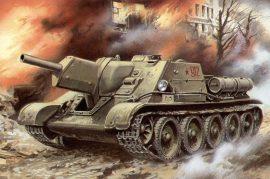 Unimodels SU-122 Self-propelled Gun