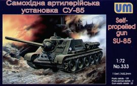 Unimodels SU-85 Self-propelled artillery plant