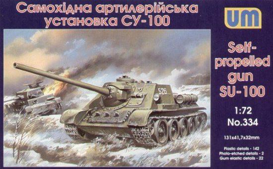 Unimodels SU-100 makett