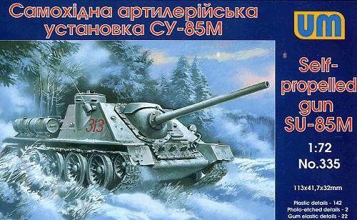 Unimodels Self-propelled Gun SU-85M makett