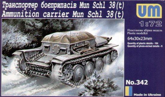 Unimodels Munitions Schlepper 38 (t) makett