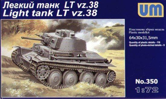 Unimodels LTvz38 ''Praga'' makett
