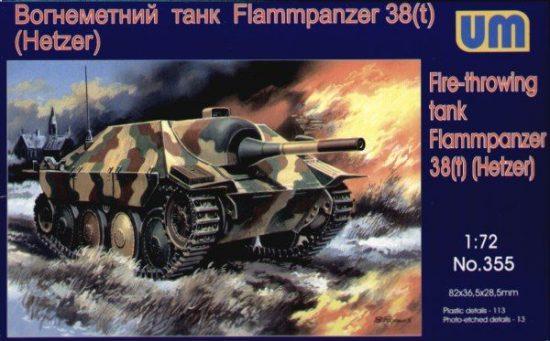 Unimodels Flammpanzer 38(t) Hetzer