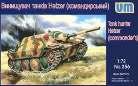 Unimodels Tank hunter Hetzer (Commanders)
