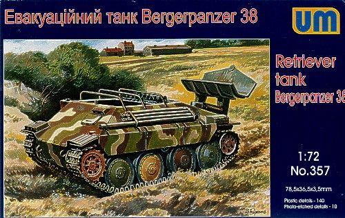 Unimodels Bergerpanzer 38 (Hetzer) makett