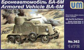 Unimodels BA-6M Armored Vehicle