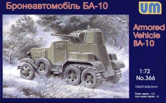 Unimodels Schützenpanzer BA-10 makett