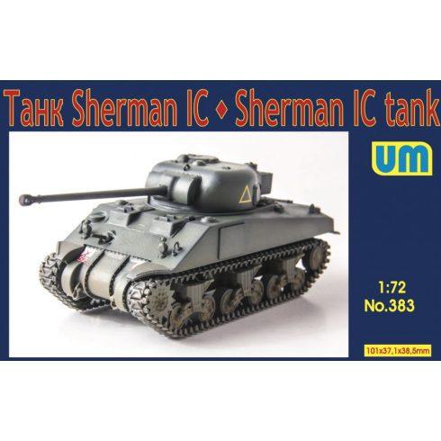 Unimodels Sherman IC Medium tank makett