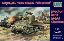 Unimodels M4A4 Sherman medium Tank