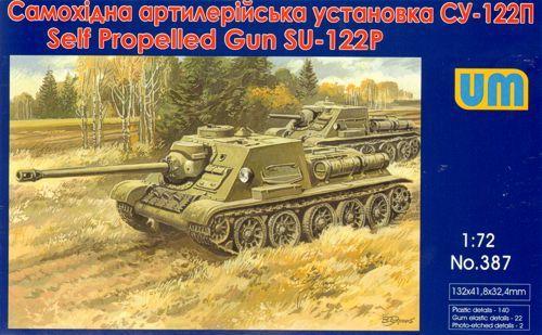 Unimodels SU-122III Soviet self-propelled art. gun makett