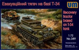 Unimodels Recovery tractor on T-34 basis
