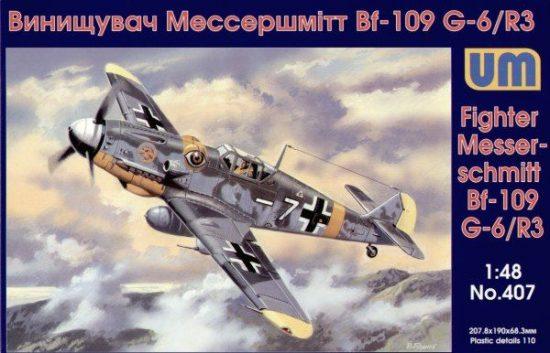 Unimodels Messerschmitt Bf-109 G-6/R3 makett