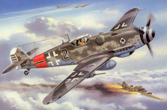 Unimodels Messerschmitt Bf 109G-6/R3/R6 makett