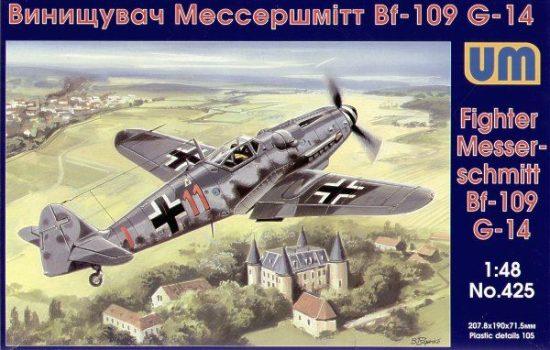 Unimodels Messerschmitt Bf-109 G-14 makett