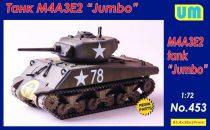"""Unimodels M4A3E2 Sherman """"Jumbo"""" tank makett"""