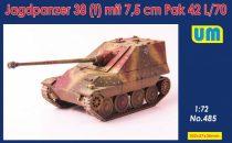 Unimodels Jagdpanzer 38(t) mit 7.5cm Pak 42 L/70 makett