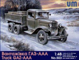 Unimodels Soviet truck GAZ-AAA