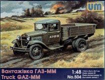 Unimodels GAZ-MM Soviet truck makett