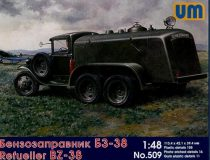Unimodels BZ-38 refuel truck makett