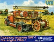 Unimodels Fire engine PMG-1 makett