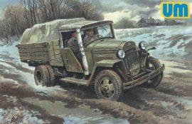 Unimodels GAZ-MM-W Soviet truck