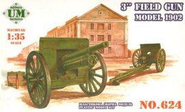 Unimodels 3inch field gun, model 1902