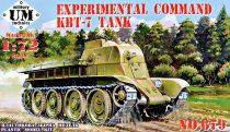 Unimodels Experimental command KBT-7 tank makett