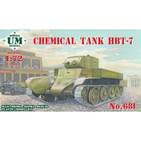 Unimodels HBT-7 Chemical tank makett