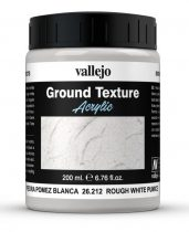 Vallejo Rough White Pumice Texture