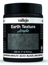 Vallejo Black Lava Asphalt Texture