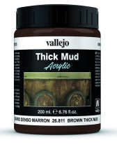 Vallejo Brown Thick Mud
