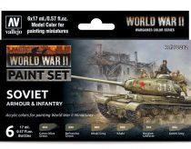 Vallejo WWII Soviet Armour & Infantry Set
