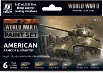 Vallejo WWII American Armour & Infantry Set